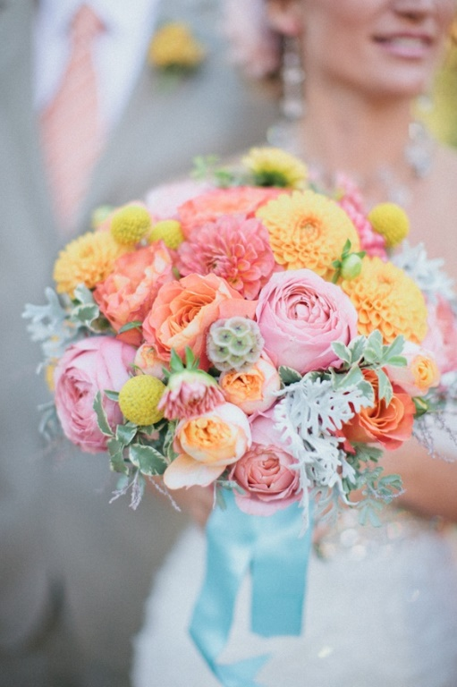 Bright Pastel or Wild 20 Fabulous Summer Wedding Bouquets