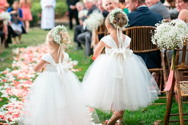 Cutest designer flower girl dresses everafterguide beautiful and it has to blending in with all the other dresses on the ceremony here we have compiled the cutest designer flower girl dresses for your mightylinksfo