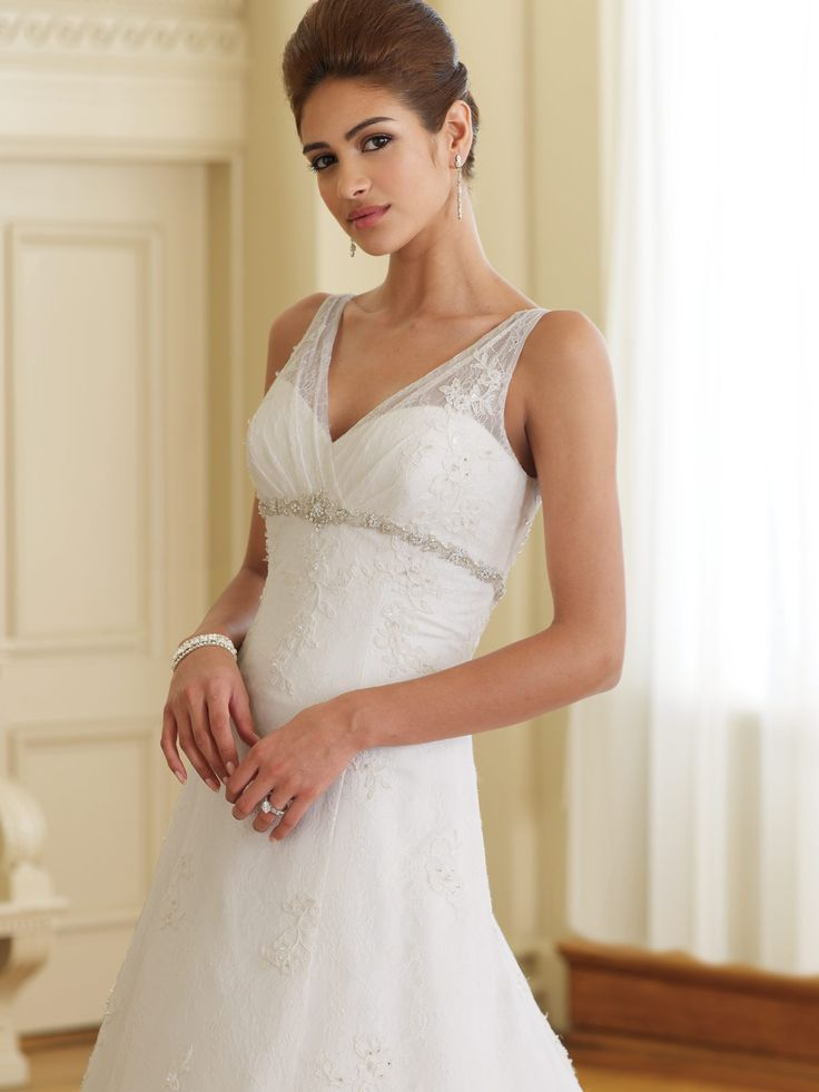 Petite wedding dress tips for our lovely petite girls for Good wedding dresses for short brides