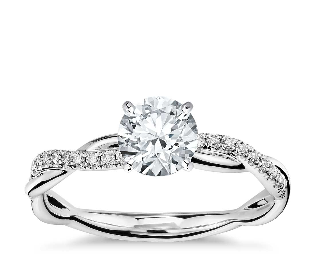 semimount engagement ring twist nl cut white set wg round rings tension jewelry gold central in diamond style solitaire
