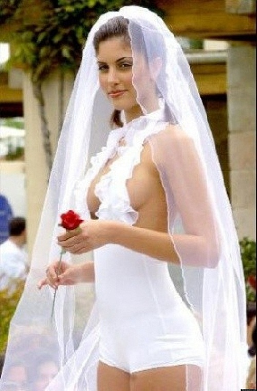 A List Of Inappropriate Wedding Dresses
