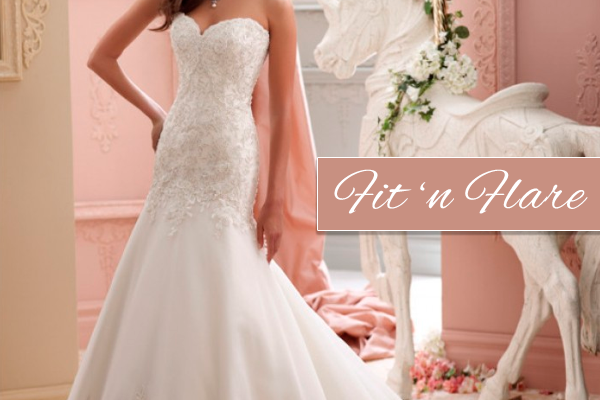 Today We Are Going To Talk About A Very Por Silhouette Fit And Flare Wedding Dress