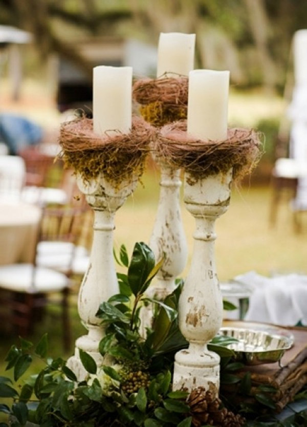 wedding table decorations without flowers for modern brides 25 fabulous wedding centerpieces 1188