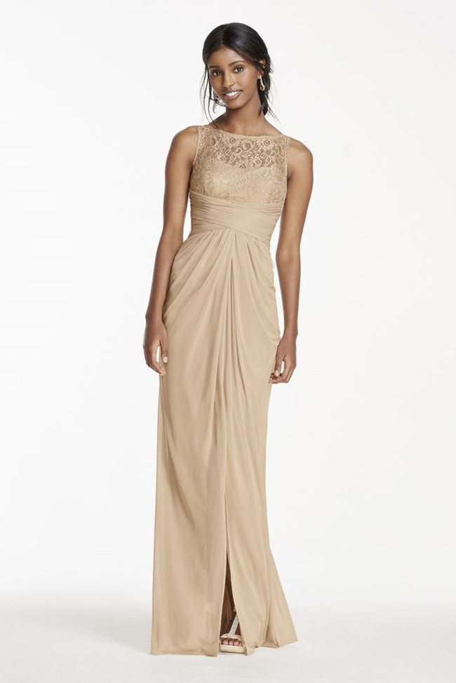 Go Glimmering, Go Golden: Fabulous Gold Bridesmaid Dresses ...