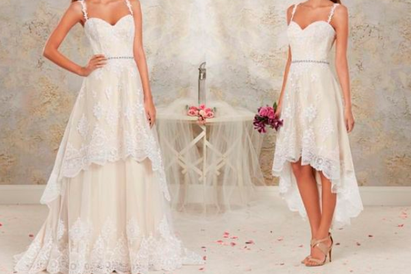 2 in 1: Detachable Wedding Dress - EverAfterGuide