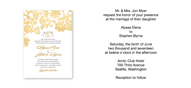 How To Write Invitation For Wedding: When To Send Wedding Invitations