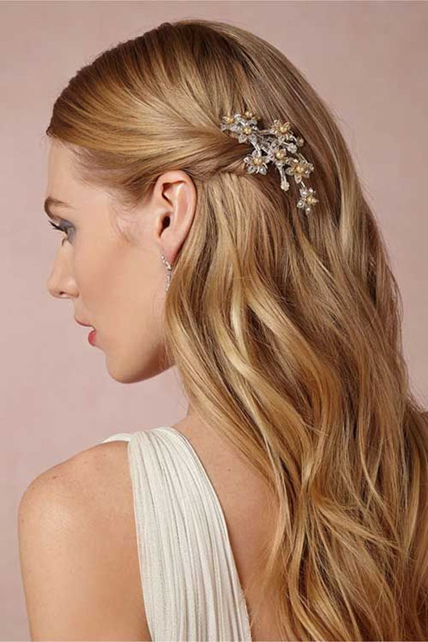 Straight Wedding Hair Inspirations for Your Big Day - EverAfterGuide