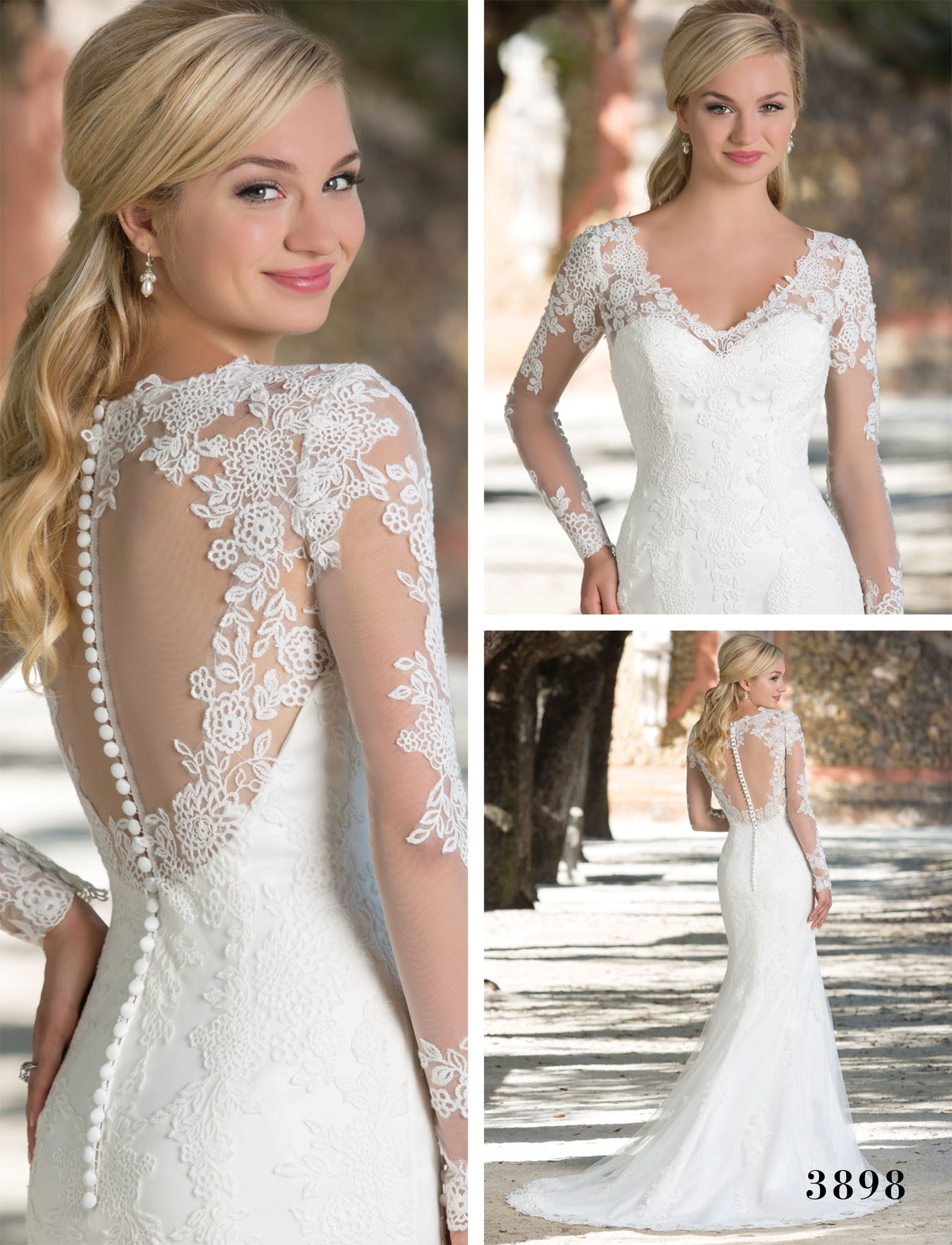 Sincerity Bridals Wedding Dress Style 3898