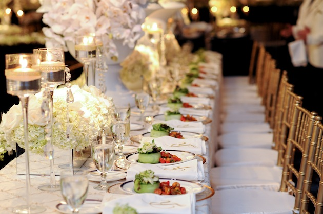 You Can Also Choose To Forgo The Round Tables Altogether And Go With Long Banquet For A More Intimate Setting