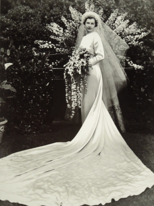 Depression Era Wedding Dress