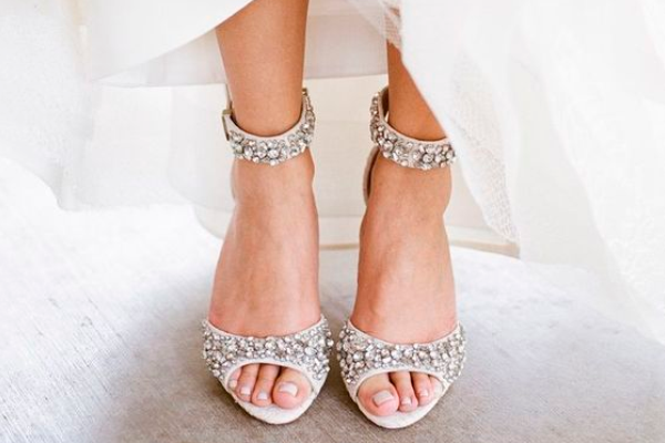 Elegant Sparkly Wedding Shoes Are The Best Choice For Your Special Day, If The Shoes  Will Making An Appearance, It Should Be A Gorgeous Pair Of Shoes So  Everyone ...