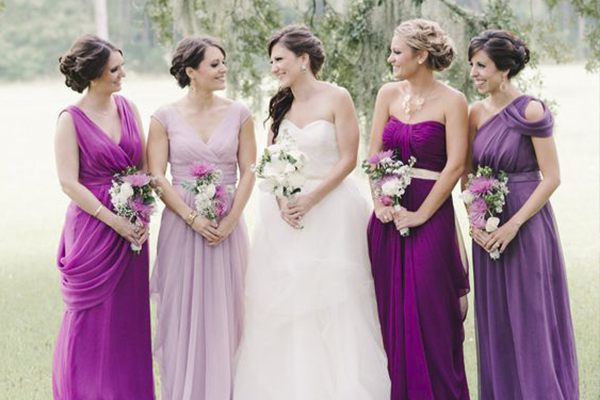 Tips And Top Picks Orchid Color Bridesmaid Dresses