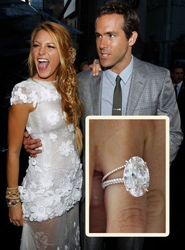 Blake Lively\'s Engagement Ring: Get the Look - EverAfterGuide