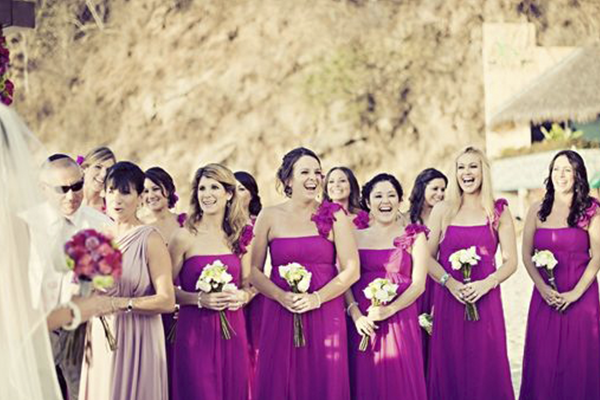Colors for bridesmaid dresses