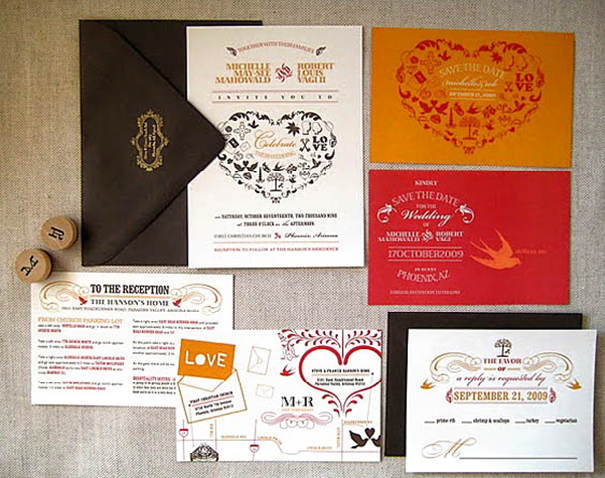 Diy wedding invitation 12 steps to nail it everafterguide choose a design solutioingenieria Gallery