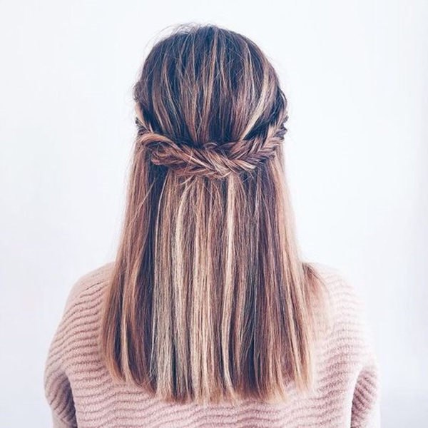 Straight Wedding Hair Inspirations For Your Big Day Everafterguide