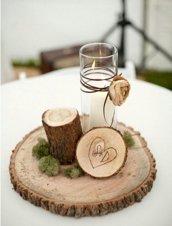 For modern brides 25 fabulous wedding centerpieces without flowers 25 fabulous wedding centerpieces without flowers junglespirit Images