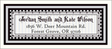 samples of address labels for wedding invitations everafterguide