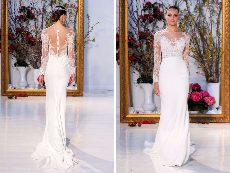 Fabulous illusion wedding dresses you will like everafterguide a list of fabulous illusion wedding dress junglespirit Choice Image