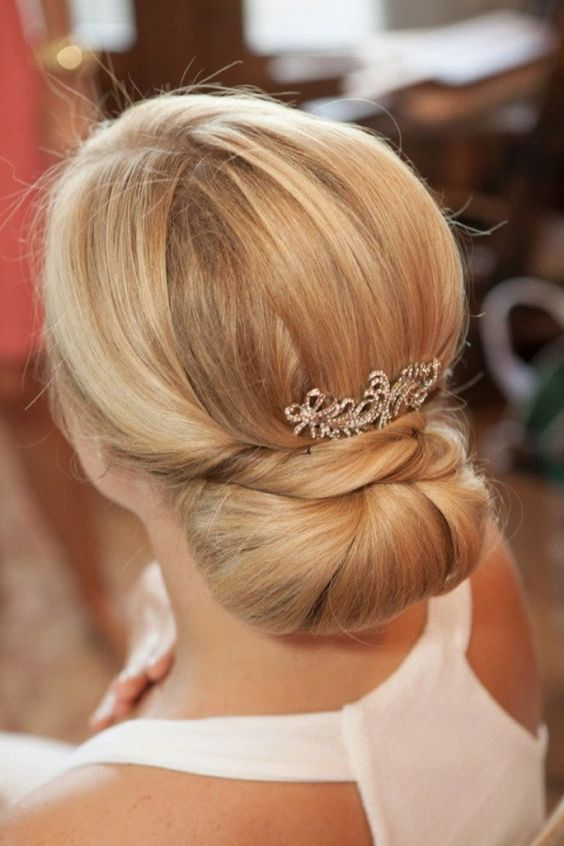 hair up in a bun styles the 30 best wedding bun hairstyles everafterguide 8157 | 38ced3f93b9b3c63a2f61802c3bf8d70