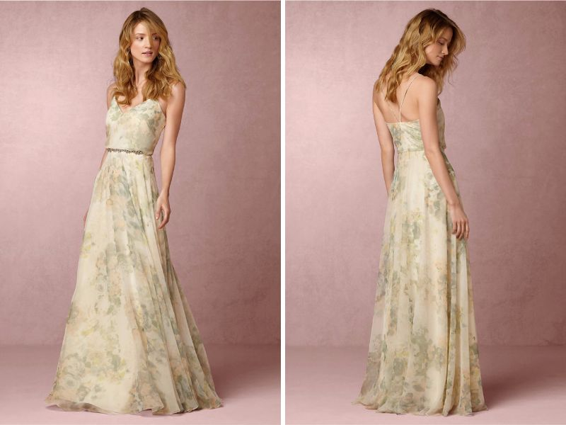 23 Trendsetting Fl Bridesmaid Dresses