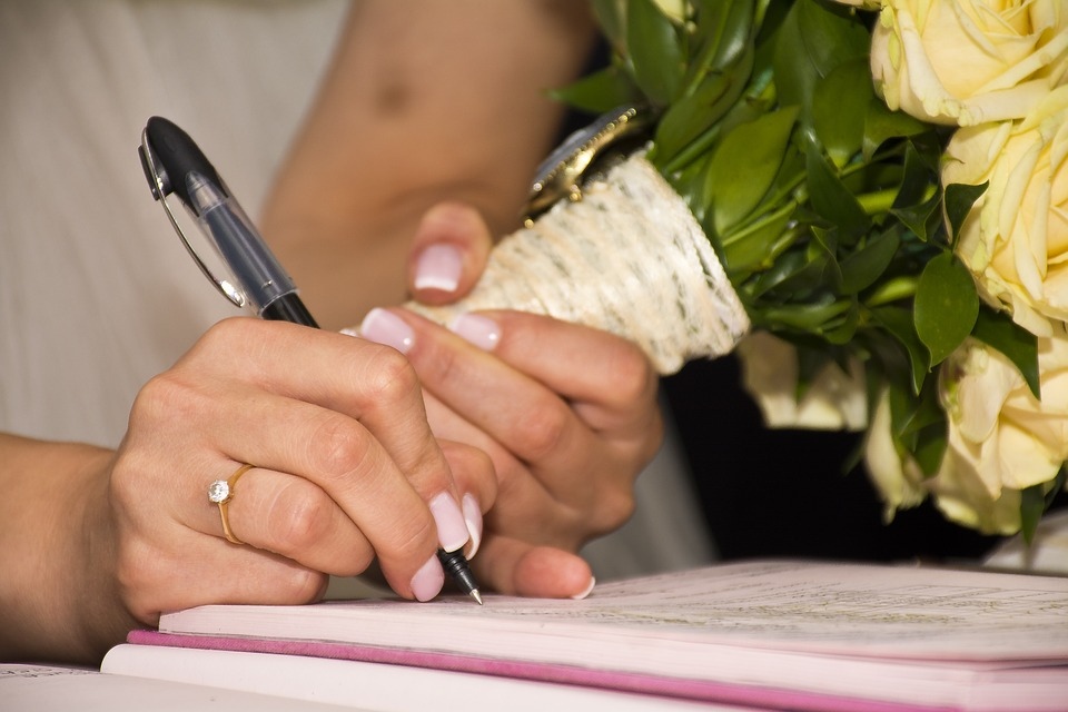 Filing The Marriage License