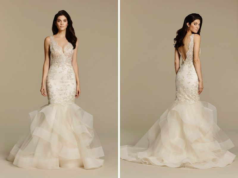 24 Best Trumpet Wedding Dresses for Our Curvy Bride - EverAfterGuide