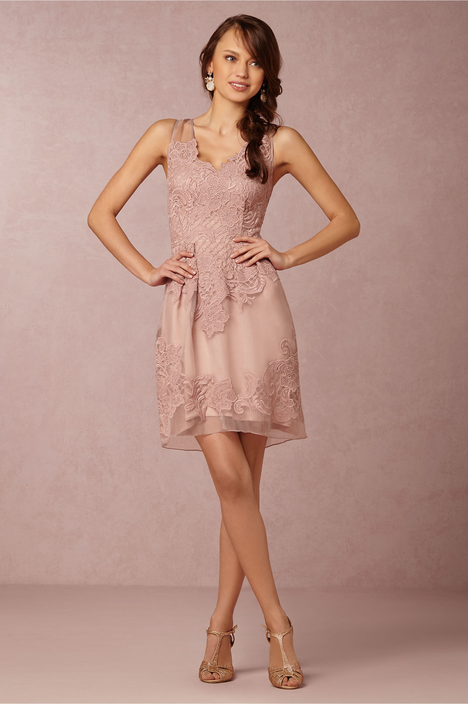 Tips and Picks: Bridesmaid Dresses to Match Lace Wedding Dress ...