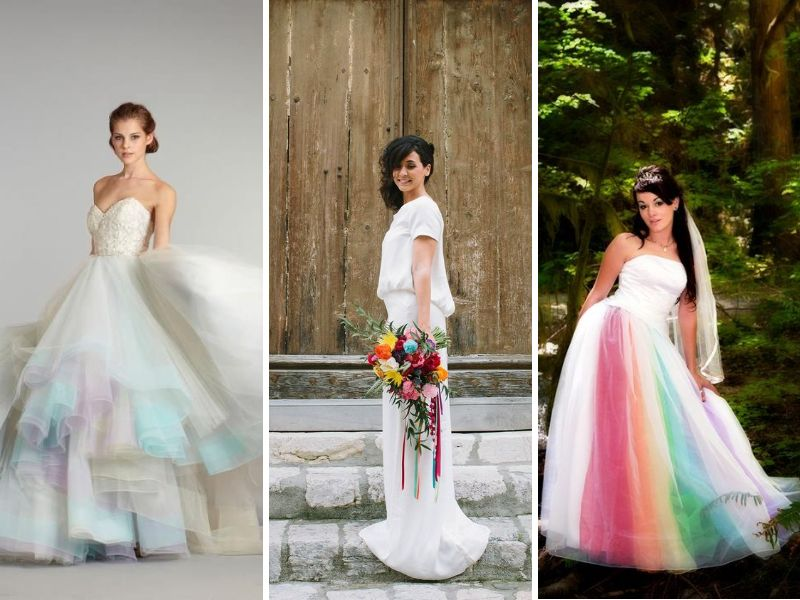 33 Best Ideas For Rainbow Wedding Decorations Everafterguide