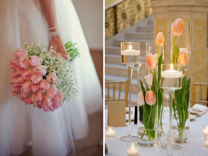 Various types of wedding flowers to make your event special tulip mightylinksfo