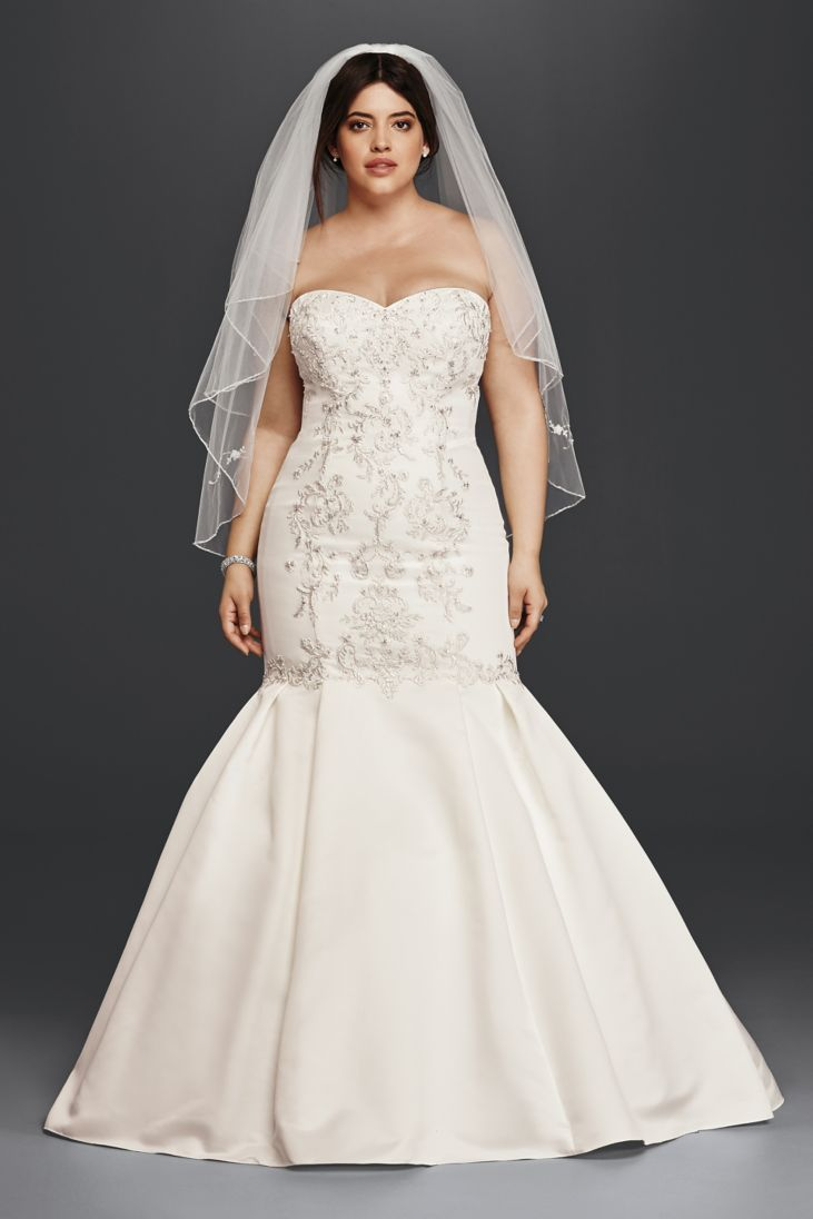 Best Wedding Dresses For Petite Curvy : Best trumpet wedding dresses for our curvy bride