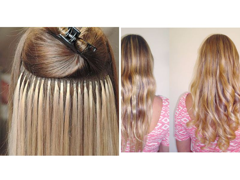 A comprehensive guide for hair extensions for white girls fusion method pmusecretfo Images