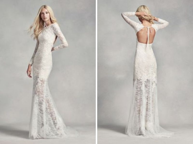 26 Dramatically-Styled Open Back Wedding Dresses - EverAfterGuide
