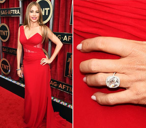 Jewelers Have Estimated The Cost Of Sofia Vergaras Engagement Ring Around 500000 Or More They Believe That Diamond Shining In Center This