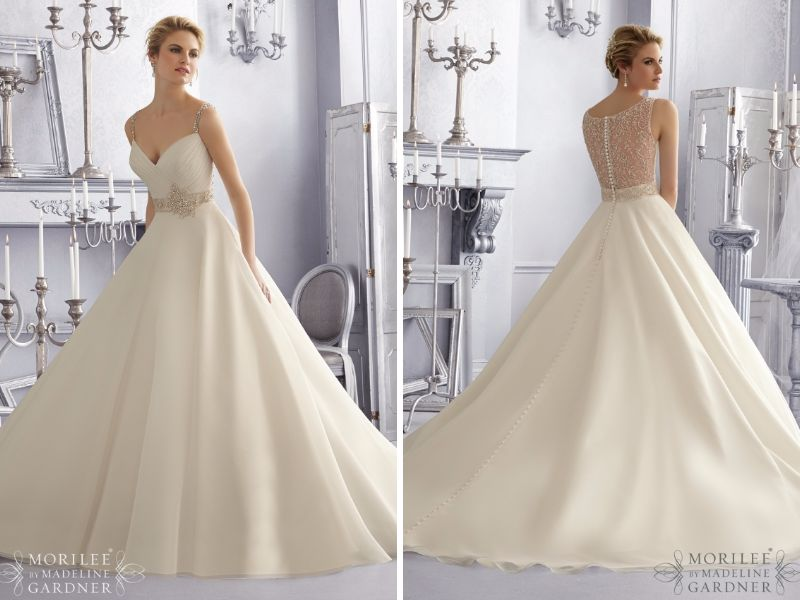 Fabulous Illusion Wedding Dresses You Will Like - EverAfterGuide