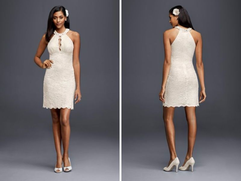 Halter Wedding Dresses Basics And Recommendations Everafterguide
