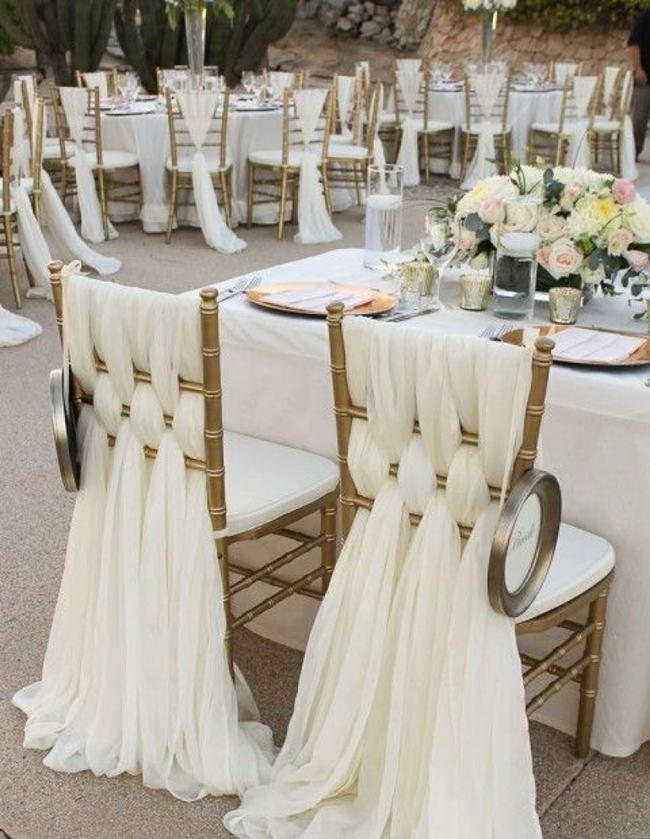 Dcor with love wedding decoration ideas for all brides keep the chairs fancy junglespirit Choice Image