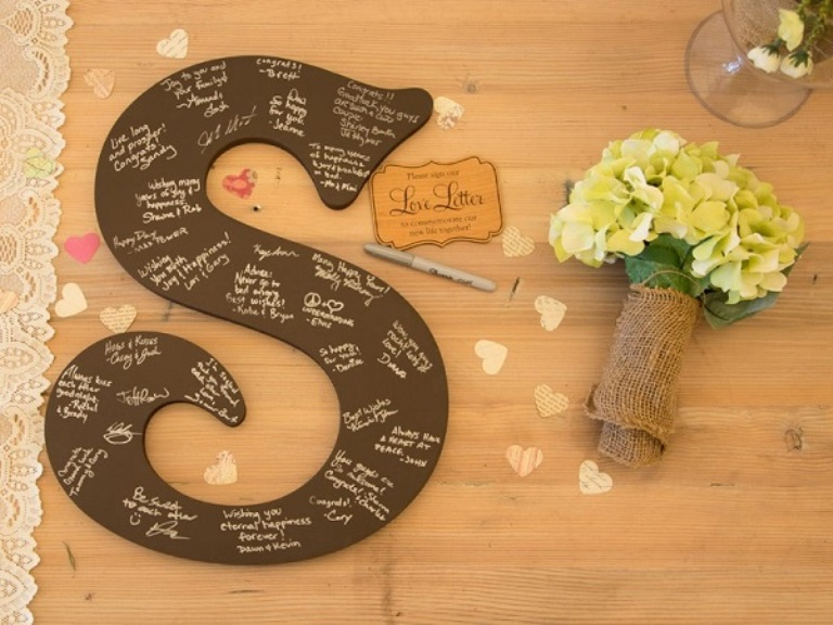 20 Alternative Wedding Guest Book Ideas Everafterguide