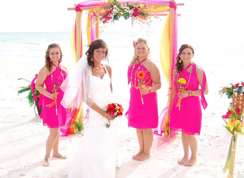 e7f58b19d3c65 What Color Matches Fuchsia for Wedding? - EverAfterGuide