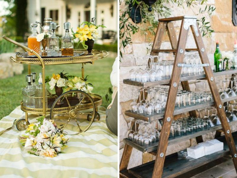 34 vintage wedding ideas you cant miss everafterguide drinks junglespirit Gallery