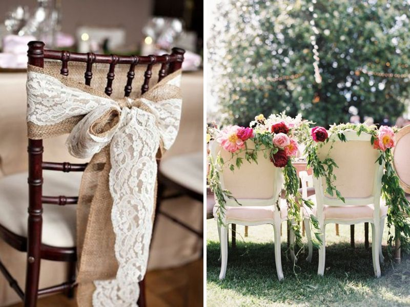 24 stunning ideas for hall decorations for weddings everafterguide items like drapes burlap flowers foliage ribbons etc are used commonly the selection of these elements depends on the wedding theme junglespirit Choice Image