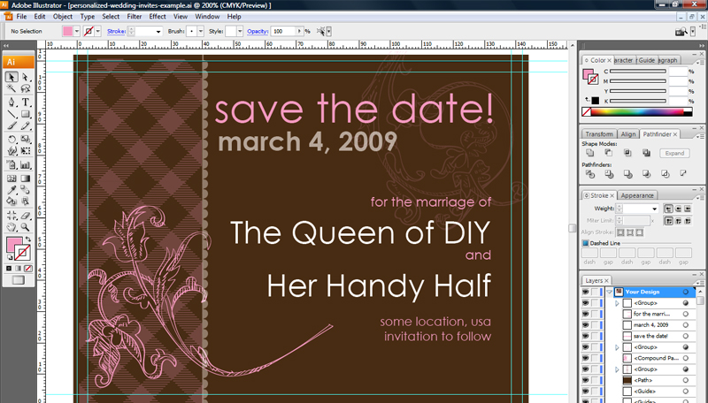 Get Techie as You Wed 20 Wedding Invitation Design Software