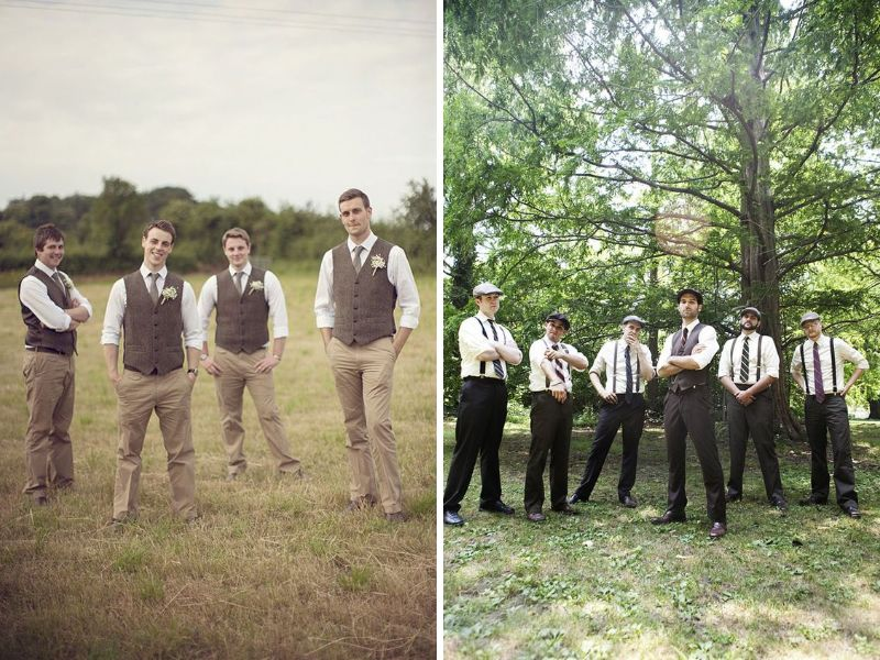 34 vintage wedding ideas you cant miss everafterguide groomsmen junglespirit Gallery