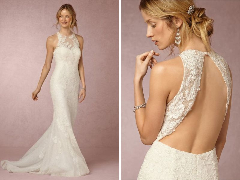 26 dramatically styled open back wedding dresses for Loose fitting wedding dresses