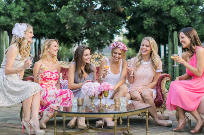 can you go with wearing the color for showers and bachelorette parties weve answered that question and provided some great options for what to wear at