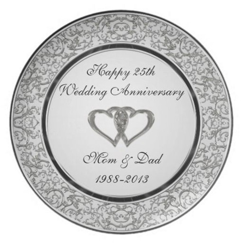 This Porcelain Plate Is An Eye Catching Gift That Represents Those Precious Times Your Parents Spent Hand In Through Thick And Thin