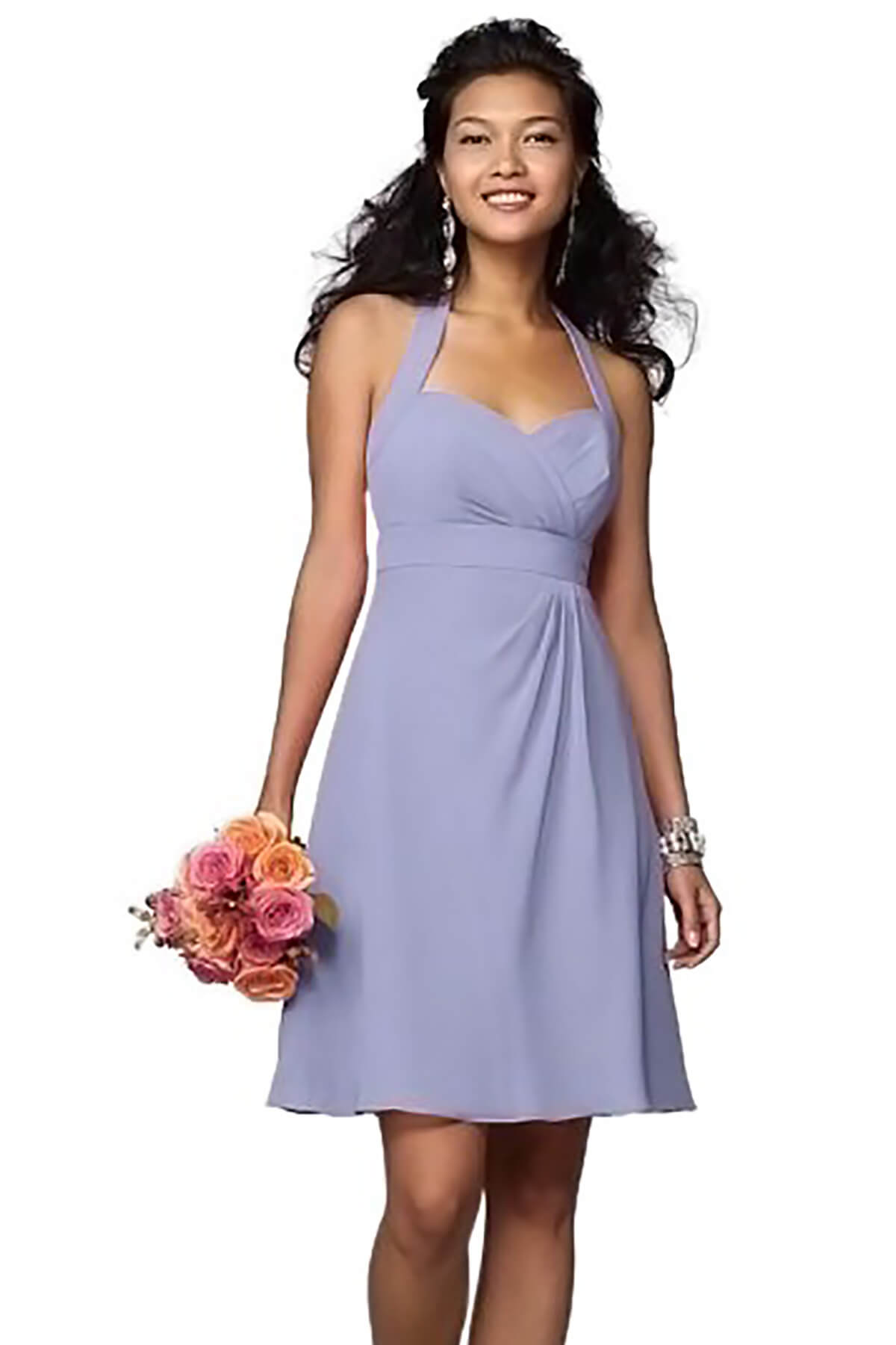 Chiffon Lavender Bridesmaid Dresses