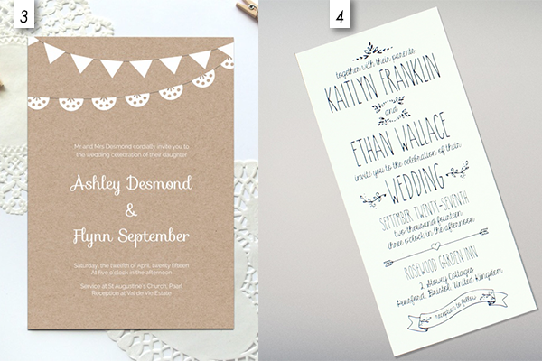 12 editable templates for wedding invitations
