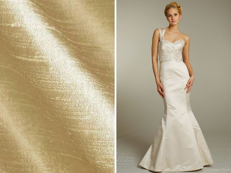 List of the Trendiest Wedding Dress Material and Fabrics ...