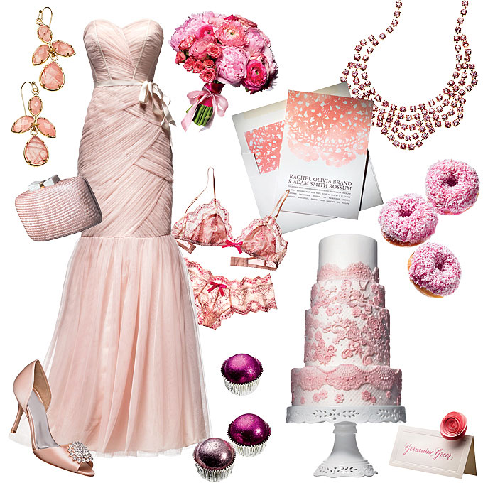 Pale Pink And Fuchsia